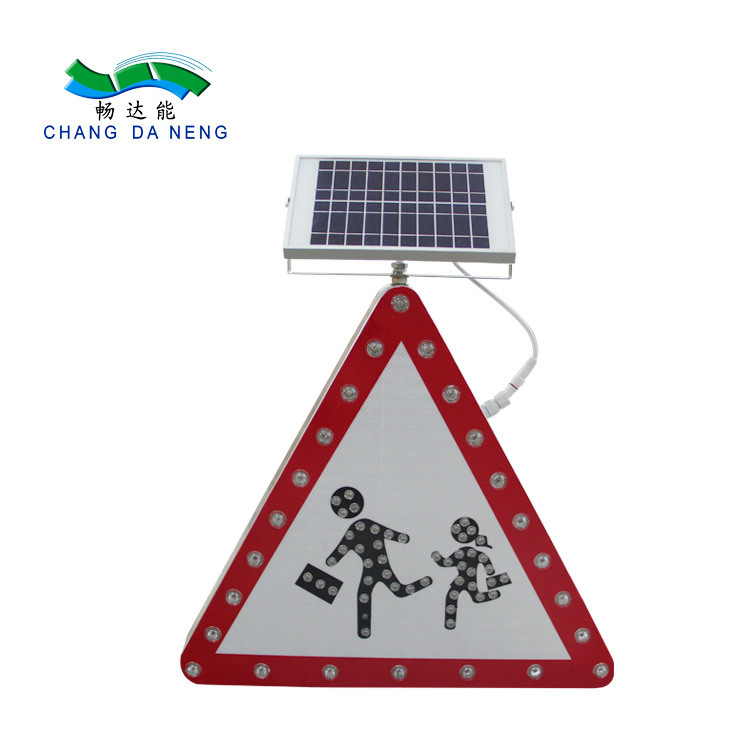 Solar road safety led warning chevron sign traffic road warning sign arrow sign